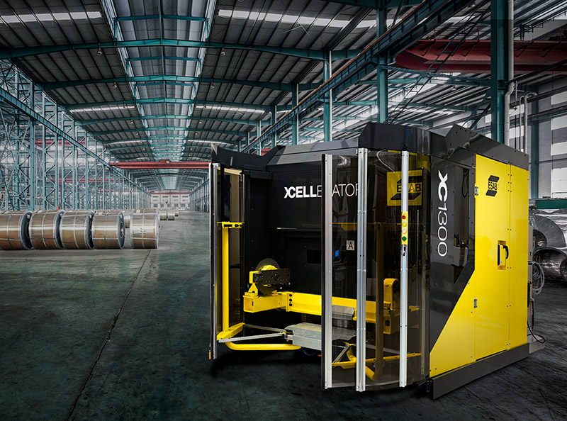 ESAB and YASKAWA have signed a global cooperation agreement to jointly develop and market a line of pre-engineered robotic welding systems called XCellerator.